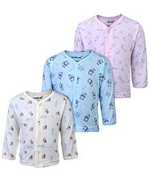 Doreme Full Sleeves Vests - Set Of 3