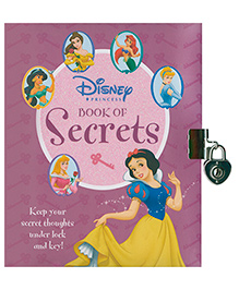 Parragon Disney Princess Book Of Secrets - English