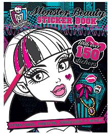 Parragon Monster Beauty Sticker Book