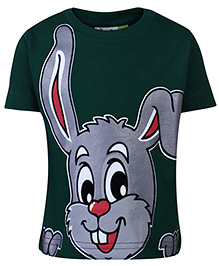 Grasshopper Glow In Dark Half Sleeves T-Shirt - Rabbit Print