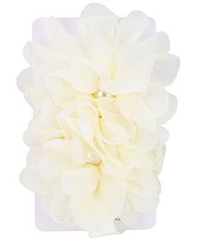 NeedyBee Hair Band - Floral Applique