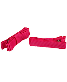 NeedyBee Double Deck Clip Pink - Pack Of 2