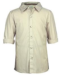ShopperTree Solid Full Sleeves Shirt