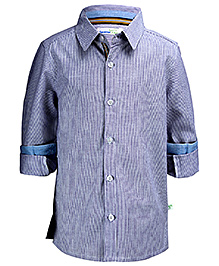 ShopperTree Full Sleeves Shirt - Stripe Pattern