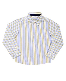 ShopperTree Full Sleeves Shirt - Multi Stripes