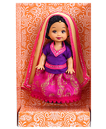 Barbie Kelly In India Collectible Doll - Height 11 Cm - 3 Year+