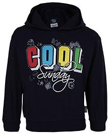 Cucu Fun Full Sleeves Hooded T-Shirt - Cool Print