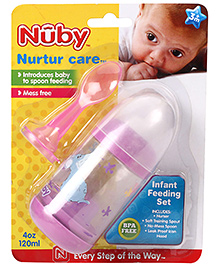 Nuby Nurtur Care Infant Feeding Set - 120 ml