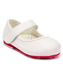 Doink Party Bellies Velcro Closure - White