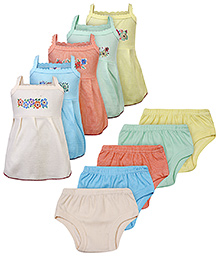 Cool Baby Slips And Panties - Pack of 5 Set