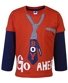 Teddy Doctor Sleeves T-Shirt - Go Ahead Print