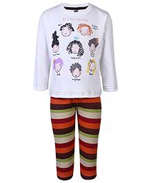 Teddy Full Sleeves T-Shirt And Legging - New Hair Style Print