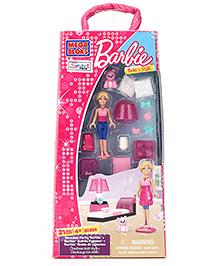 Barbie Build 'N Style Slumber Party Barbie - 21 Pieces - 4 Years+