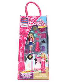 Barbie Build 'N Style Fashion Model Barbie - 21 Pieces - 4 Years+