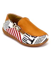 Doink Loafers Slip On - Printed