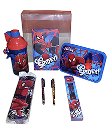 Spider Man School Kit - Set of 6
