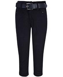 Talent Full Length Corduroy Trouser - Black