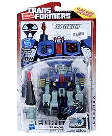 Funskool Transformers Tankor Figure - Blue
