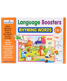 Creative Language Boosters Rhyming Words