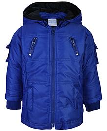 FS Mini Klub Hooded Jacket - Midnight Navy Blue