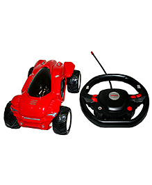 Adraxx Remote Control Super Stunt Performing Car Toy - Red - 6 To 12 Years