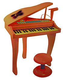 Adraxx 37 Key Mini Grand Piano - 3 To 6 Years