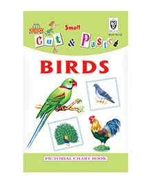 Indian Book Depot map house Cut And Paste Book of Birds - English