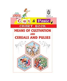 Indian Book Depot map house Cut And Paste Chart Book Means of Cultivation An Cereals And Pulses - English