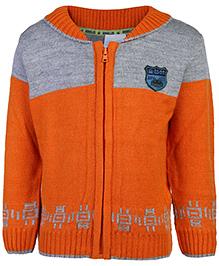 FS Mini Klub Full Sleeves Sweater - Orange