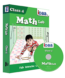 IDaa CD CBSE  Math Activity Class 4 - English