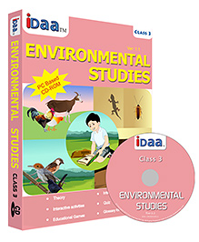 IDaa CD CBSE Environmental Studies Class 3 - English
