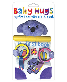 Baby Hugs My First Activity Cloth Book - English