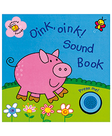 Oink Oink Sound Book - English
