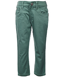 Gini & Jony Full Length Trouser - Green