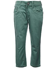 Gini & Jony Full Length Trouser - Green