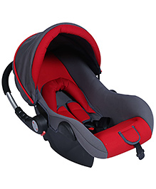 Fab N Funky Carry Cot Cum Rocker - Red And Grey