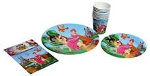 Birthday Party Kit - Princess Themed Tableware Set