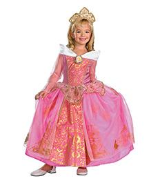 Disney Storybook Aurora Prestige Theme Costume - Pink