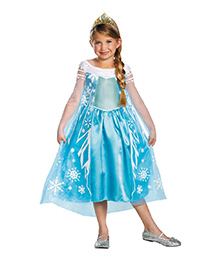 Disney Elsa Deluxe Theme Costume - Blue