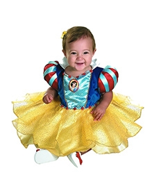 Snow White Infant Theme Costume - Blue And Yellow