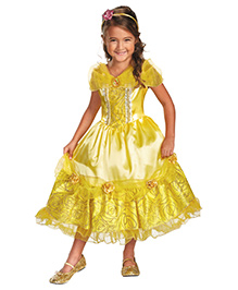 Disney Belle Sparkle Deluxe Theme Costume - Yellow