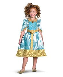 Disney Theme Costume Merida Classic  - Blue
