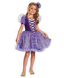 Disney Rapunzel Tutu Prestige Theme Dress - Purple