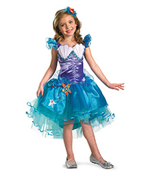 Disney Ariel Tutu Prestige Theme Dress - Blue