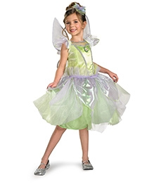 Disney Tinker Bell Tutu Prestige Dress - Green