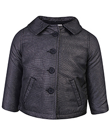 Beebay Quilted Jacket Black - Charcoal Shimmer