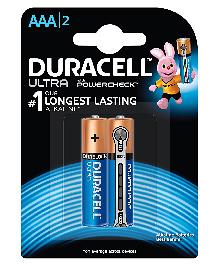 Duracell Ultra AAA Batteries - 2 Batteries
