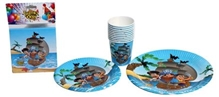 Birthday Party Kit - Pirate Themed Tableware Set