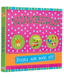 Art Factory Numbers Puzzle And Book Kit - English