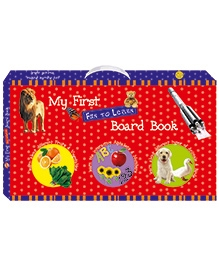 Art Factory My First Fun To Learn Board Book Box - Set Of 6 Books